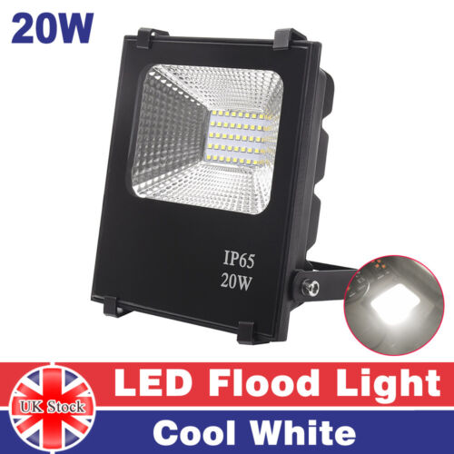 10//20//30//50W PIR Motion LED Floodlights Outdoor Security Flood Light Cool White