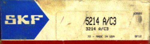 125 MM OD SKF BEARINGS 5214 A//C3 ***NIB*** 70 MM BORE