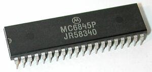 MC6845P CRT Video Controller Motorola