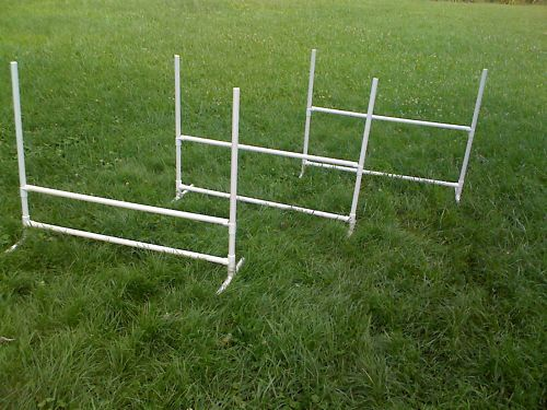 3 Dog Training Jumps Agility Obedience Flyball FUN