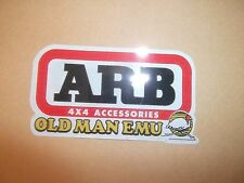Old Man Emu Shocks 4X4 Sticker Decal Rally Car Helmet Racing Off road Go Cart