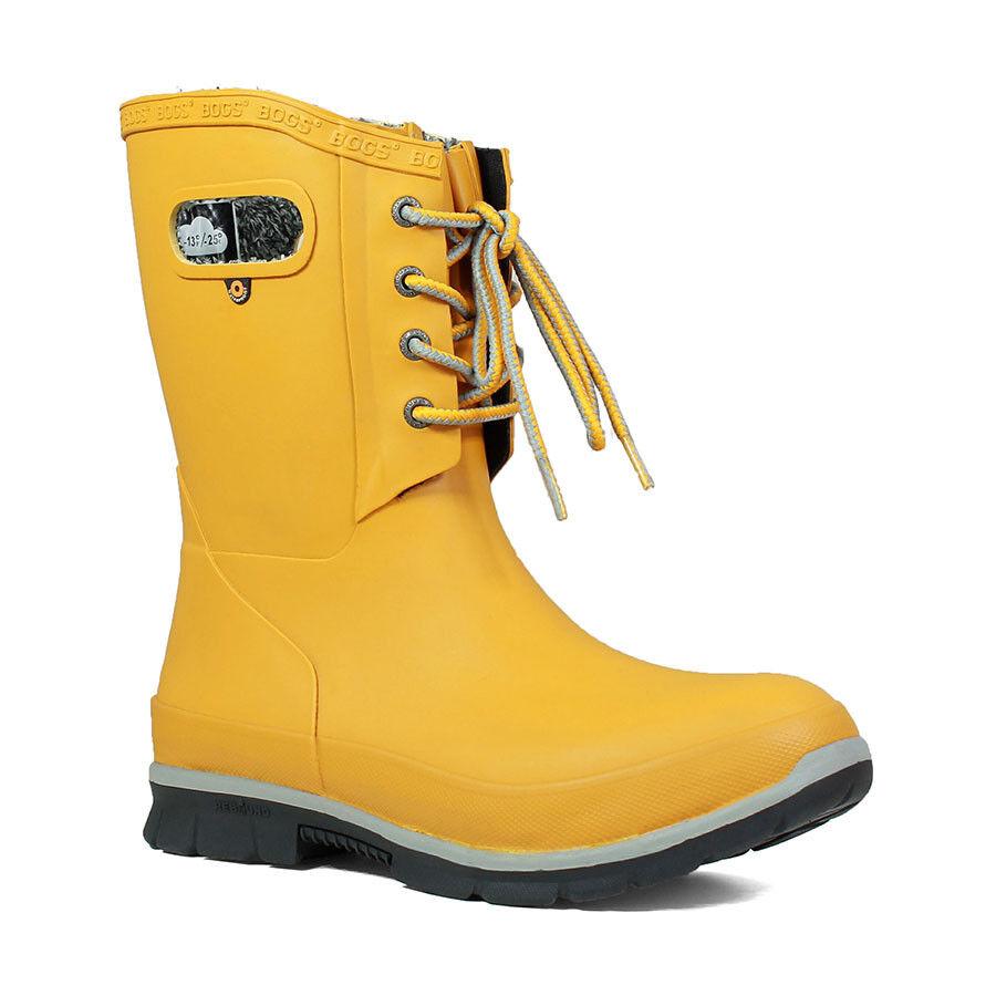 Bogs Plush Lined Wellington Stiefel 72103 Damenschuhe Amanda Laced Insulated Fashion Fashion Insulated b523e3