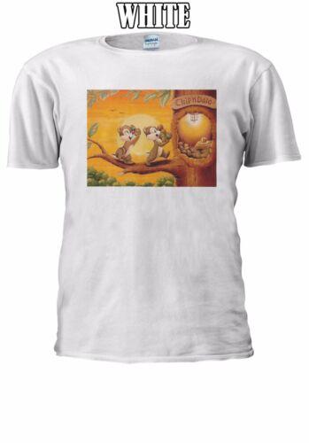Chip And Dale Cartoon T-shirt Vest Tank Top Men Women Unisex 2562