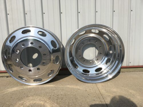 24.5 Peterbilt Millenium Hub Pilot Aluminum Wheels