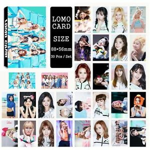 30pcs-set-Cute-Kpop-TWICE-all-members-Photo-Picture-Poster-Lomo-Cards