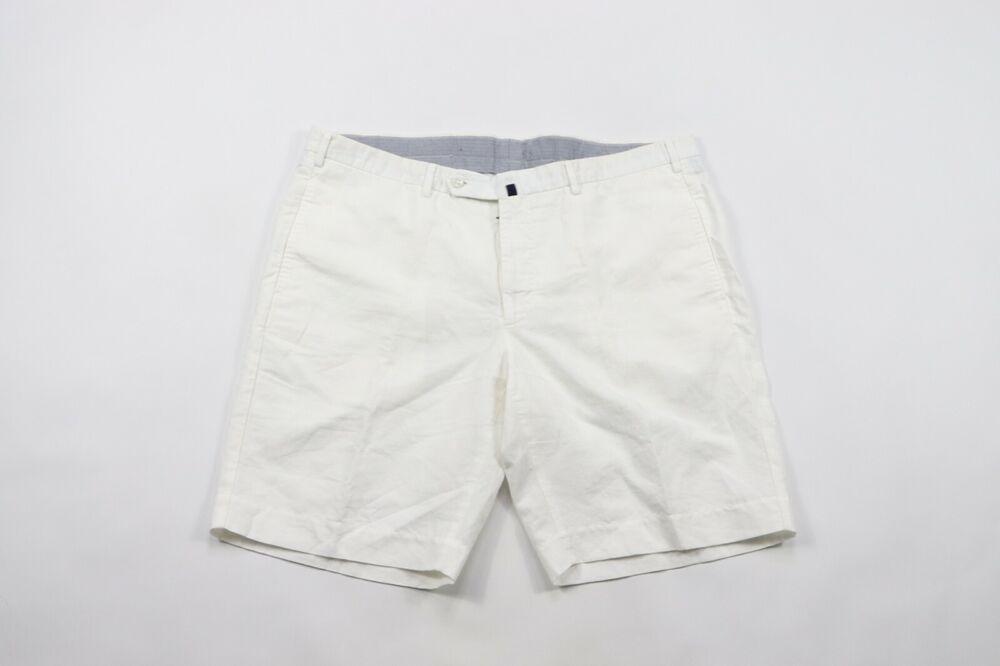 Charitable Neuf Incotex Chinolino Taille Hommes 42 Slowear Plat Avant Casual Doublé Short Disponible Dans Divers ModèLes Et SpéCifications Pour Votre SéLection
