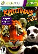 Kinectimals Now With Bears RE-SEALED Microsoft Xbox 360 GAME KINECT