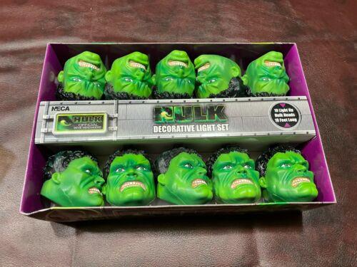 Marvel The Incredible Hulk Decorative//Holiday Light set 1993 Neca