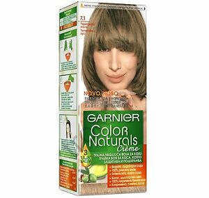 image is loading garnier color naturals 7 1 ash blonde color - Colores Garnier