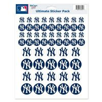 York Yankees 8.5x11 Ultimate Logo Sticker Sheet Brand Wincraft