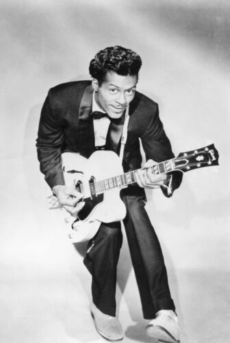 Chuck Berry Poster 24x36 inch rolled wall poster