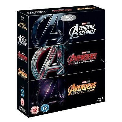 Avengers Infinity War Triplepack [Blu-ray]