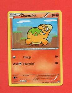 Carte Pokemon CHAMALLOT 12//122 Reverse XY9 Rupture Turbo FR