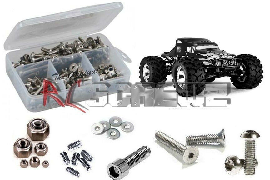 RC Screwz RCR017 Redcat Redcat Redcat Racing EarthQuake 3.5 Complete Stainless Hardware Kit 4ebd6b