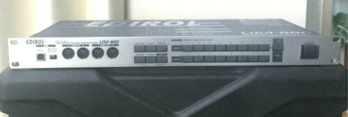 EDIROL UM-880 roland 8 IN 8 OUT USB MIDI Interface MIDI Patcher W//Ac Cable