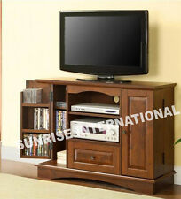 Wooden TV cabinet / TV unit  with CD / DVD slots !
