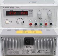 Agilent / HP E3620A 50W Dual Output Bench DC Power Supply, 0-25V / 0-1 Amp