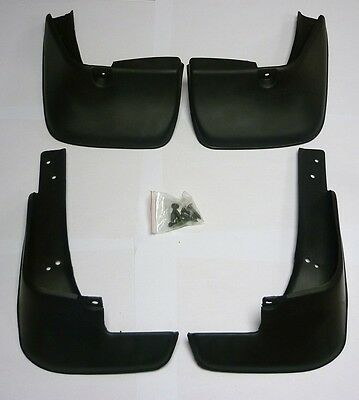 4 MUD FLAPS  (FRONT & REAR) FIT TOYOTA COROLLA E120 (2002- 2007) MUDFLAPS NEW