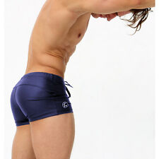 AQUX Brand Sexy Male Swim Briefs Low Rise Men's Nylon Swimwear xb