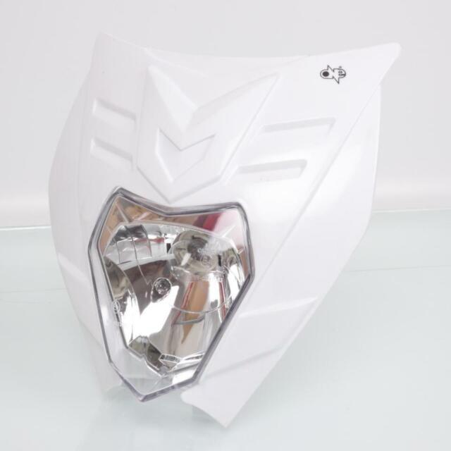 Headlight Plate One Solex Felix White New
