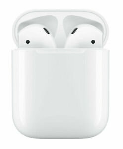 Apple AirPods 2 White with Charging Case In Ear Headphones MV7N2AM/A