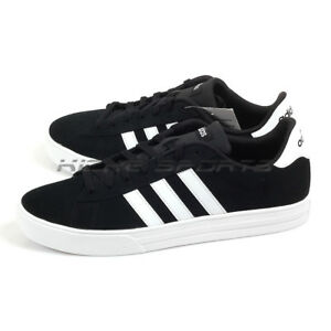 8f4123051f0e6f Details about Adidas Daily 2.0 Core Black White White Lifestyle Casual  Trainers Shoes DB0273