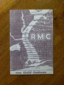 RMC-The-Work-of-the-River-Murray-Commission-Paperback-1946-1st-edition