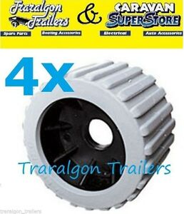 4x-grey-wobble-roller-ribbed-rubber-boat-jet-ski-trailer-110mm-x-75mm-G27
