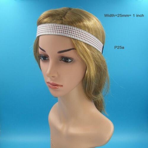 Boho Tribal Hippie,Non No Slip Headband,Girl,Women,Men,Bohemian Workout Hairband