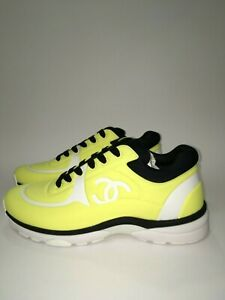 CHANEL VOLT TRAINERS SNEAKERS 42 | eBay