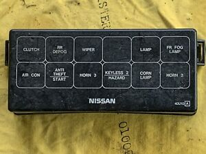 95 96 97 98 99 nissan maxima engine bay fuse box cover. Black Bedroom Furniture Sets. Home Design Ideas