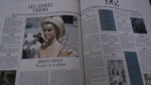 Rivista Brigitte Bardot Studio N° 3 Mai 1987 Be