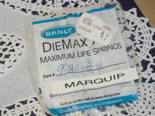 "Danly Diemax 9-2048-11 Green Maximum Life Light Load Die Springs 1 1//4 x 12/"""
