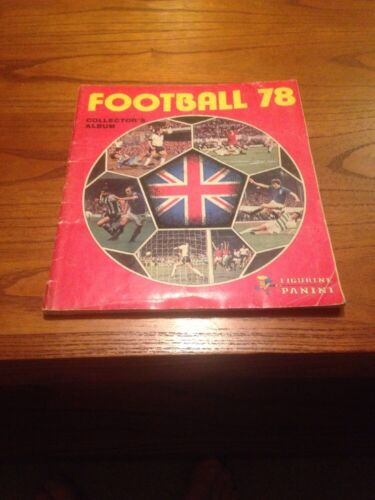 Panini football 78 album 432 out of 525 stickers in.