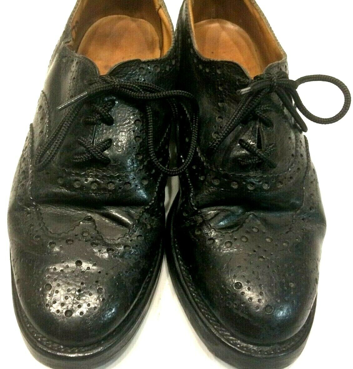 Genuine Scottish Highland Brogues Piper shoes, Grade one Size 7s Double tapped