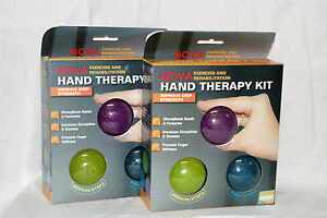 NOVA-Exercise-amp-Rehabilitation-Hand-Therapy-Kit-With-3-Different-Grib-Balls