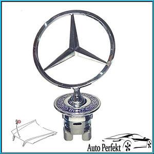 Mercedes-Benz-Stern-Emblem-Motorhaube-W202-W203-W210-W211-W220