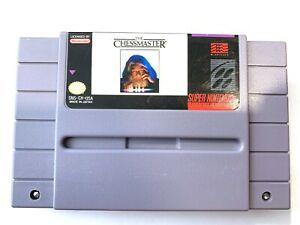 The-Chess-Master-Super-Nintendo-SNES-GAME-Tested-Working-amp-Authentic
