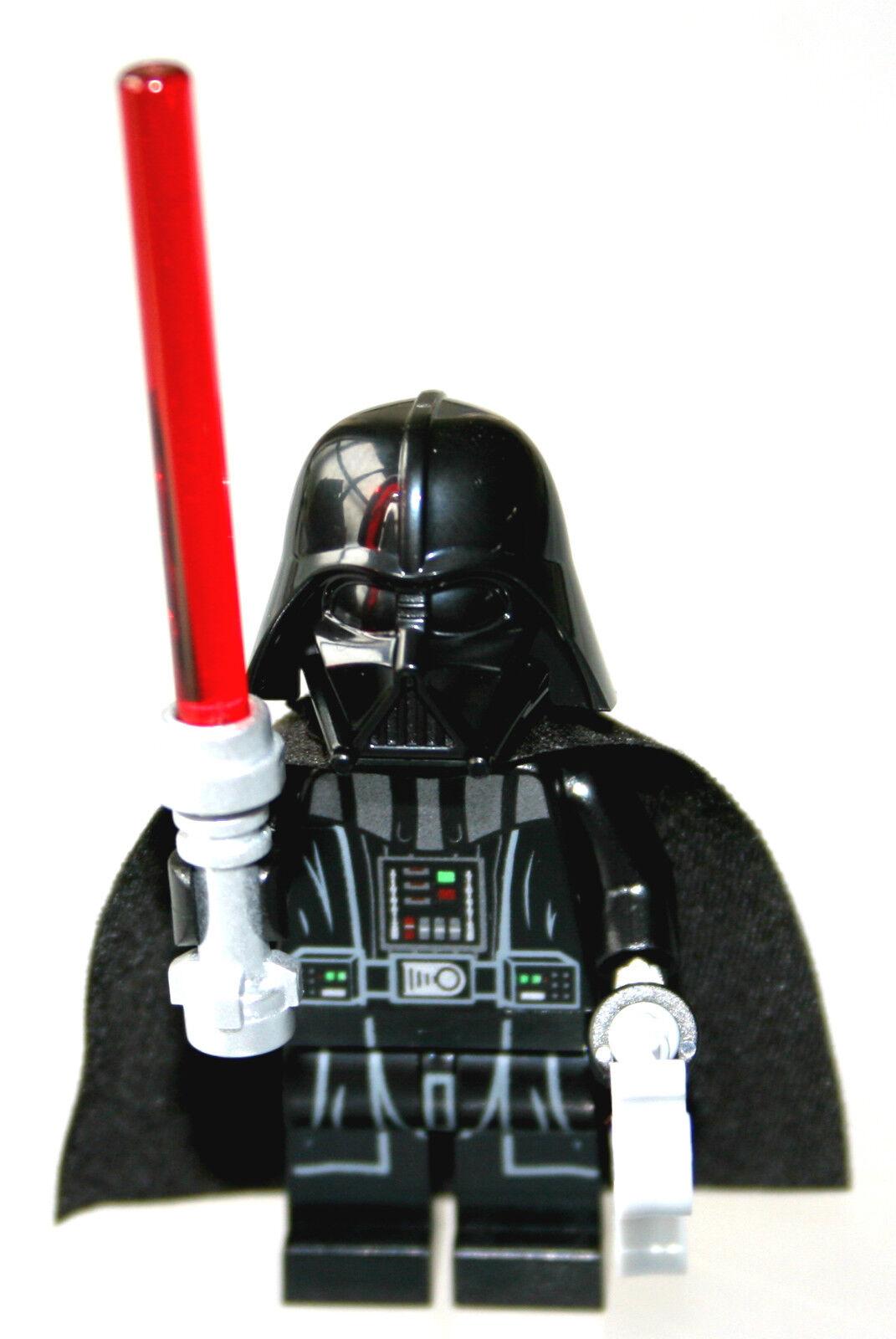 Lego 75093 Star Wars Darth Vader Minifigure Type 2 Helmet & Light Saber 2015 New