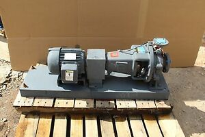 Details about INGERSOLL RAND CENTRIFUGAL PUMP 20GPM 20 GPM 1800 RPM 1 5HP  2