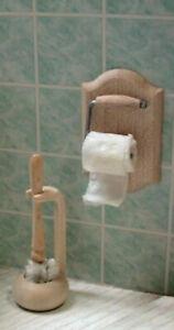 Puppenstuben & -häuser 1:12 Miniatur 7 Stück Toiletten Badezimmer Accessoire Set Für Puppenhaus
