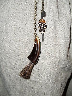 Pirate pick & pan brush flintlock tool LARP REENACTMENT