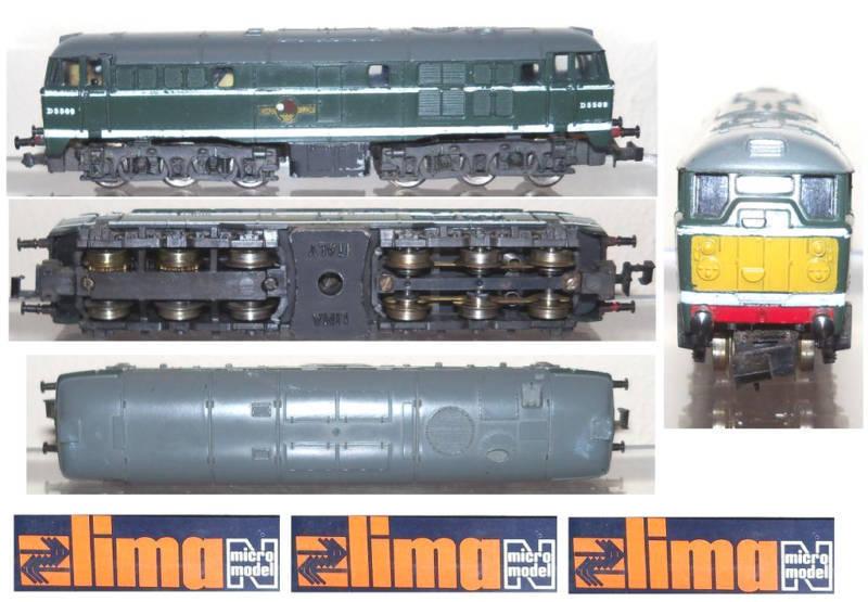 LIMA 214 E-Look DIESEL Sr.A1A BRITISH RAILWAYS SCALA-N