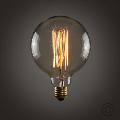 E27 Screw 60W Vintage Antique Retro Style Lighting Filament Edison Lamp Bulbs UK