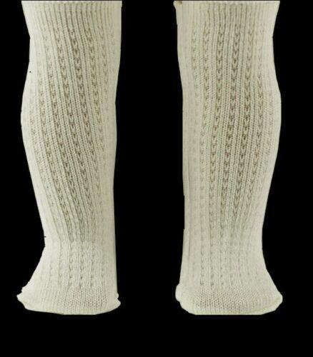 2 paires chaussettes poupée ancienne