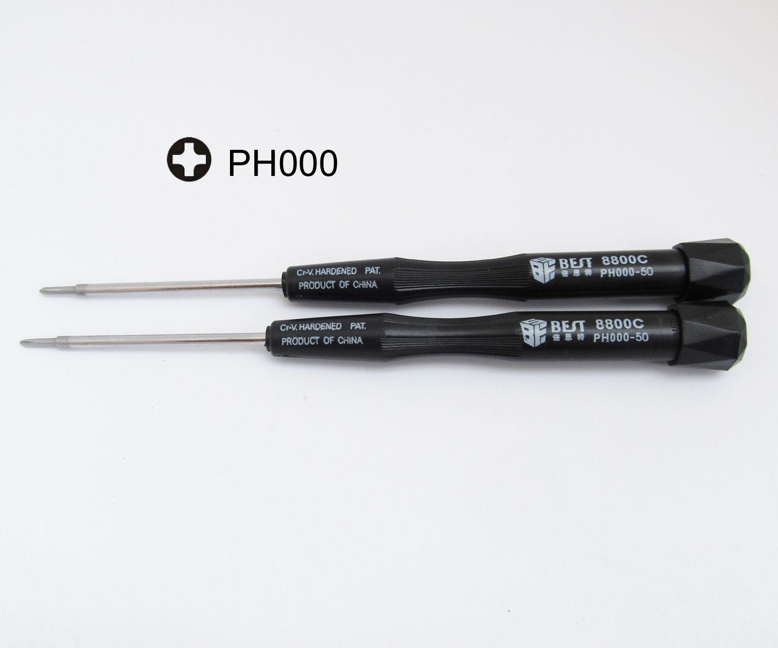 50x Phillips 000 PH000 Precision Screwdriver Phone Laptop Repair Tool Best 8800C