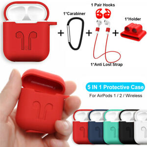 For Apple Airpods 2 1 Charging Case Silicone Skin Cover Accessories Airpod Case Ebay