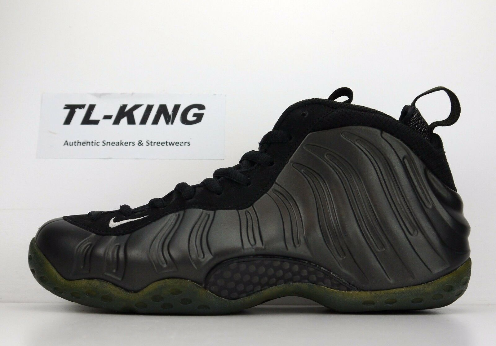 2008 Nike Air Foamposite One Dark Army HOH House Of Hoops 314996 031 8.5 USED
