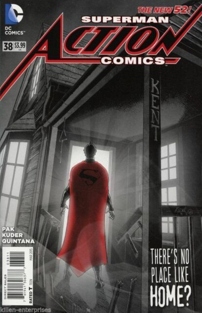 Action Comics #38 The New 52 DC Comic 1st Print 2018 unread NM Superman Doomed