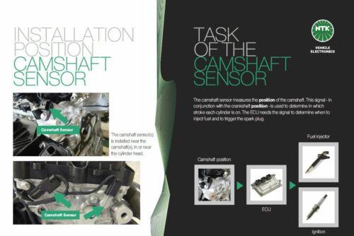 Engine Speed Position Sensor 81080 CMN2-V081 NGK NTK Camshaft Sensor
